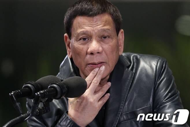 로드리고 두테르테 필리핀 대통령. <자료사진> © AFP=뉴스1