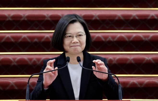 차이잉원 대만 총통. (사진=AFPBBNews)