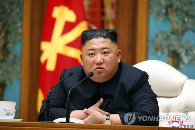 """정부, 김정은 신변이상설에 """"사실 아냐…특이동향 없다"""" [[국내에서만 사용가능. 재배포 금지. 연합뉴스 자료사진]"""