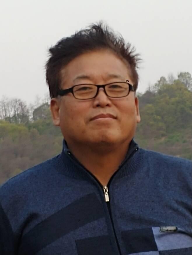 '전두환 조형물' 제작한 정한봄씨 [정한봄씨 제공. 재판매 및 DB 금지]