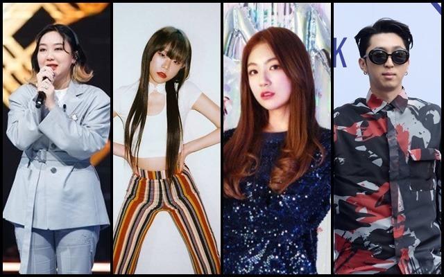 이영지 브린 하선호 슬리피(왼쪽부터)가 '힙합걸Z'로 뭉친다./Mnet, 언더바레코즈, 업보트, 남용희 기자