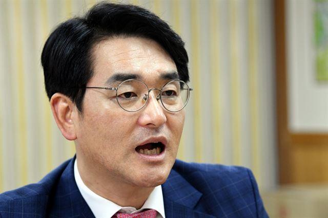 박용진 더불어민주당 의원. 고영권 기자