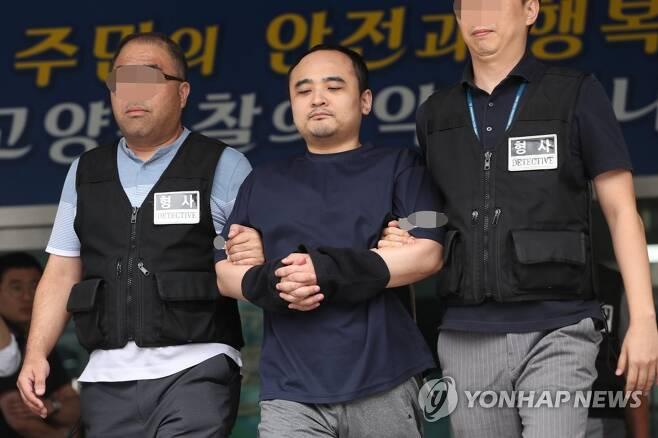 '한강 몸통시신 사건' 피의자 장대호 [연합뉴스 자료사진]