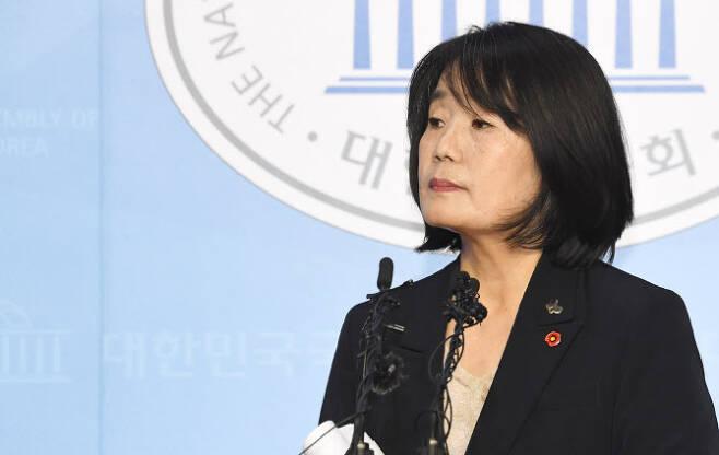 윤미향 더불어민주당 의원.(사진=연합뉴스)