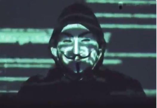 어나니머스가 지난달 31일(현지시간) SNS에 미국에서 일어난 시위를 지지하며 폭력과 부패에 맞서겠다는 내용의 영상을 공개했다. 어나니머스 SNS 캡처