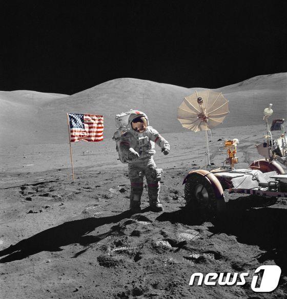 1972년 12월 미항공우주국(NASA) 달 탐사. © afp=뉴스1
