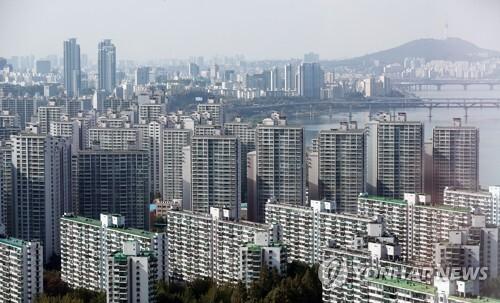 서울 시내 아파트 전경 [연합뉴스 자료사진]