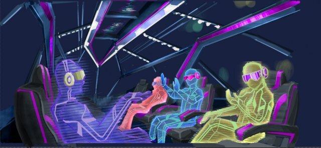 VR 버스 가상 체험 이미지