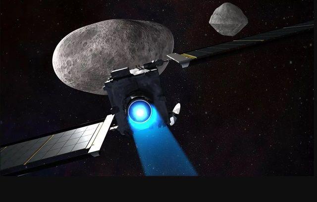 NASA DART 우주선은 내년 6월 발사돼 소행성 디모포스와 충돌할 예정이다. (사진=NASA)