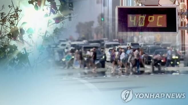 올해 기온 사상 최고 기록할 수도…온난화 가속 (CG) [연합뉴스TV 제공]