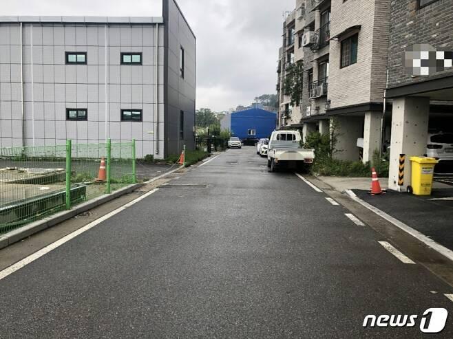 당시 폭행이 발생했던 현장 모습.© 뉴스1 DB