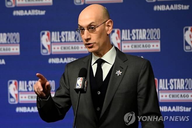NBA 애덤 실버 커미셔너 [AFP=연합뉴스]