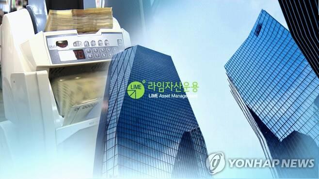 라임자산운용 사모펀드 환매 중단 (CG) [연합뉴스TV 제공]