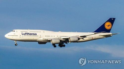 독일 루프트한자 항공이 보유한 보잉 747기 [보잉사 제공. 재판매 및 DB 금지]