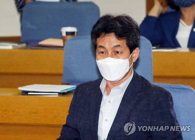 더불어민주당 윤건영 의원 [연합뉴스 자료사진]