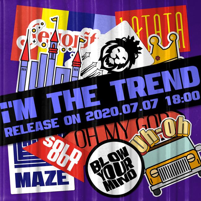 7일(화), (여자)아이들 디지털 싱글 'i'M THE TREND' 발매 | 인스티즈