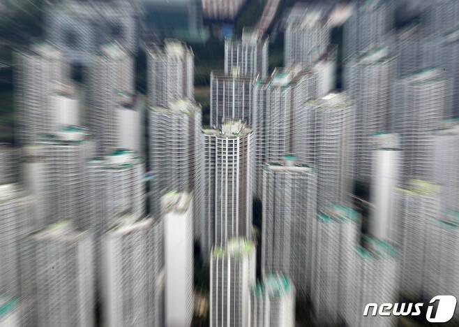 서울 도심 아파트 단지 모습. 기사와 직접연관 없음. © News1 이재명 기자