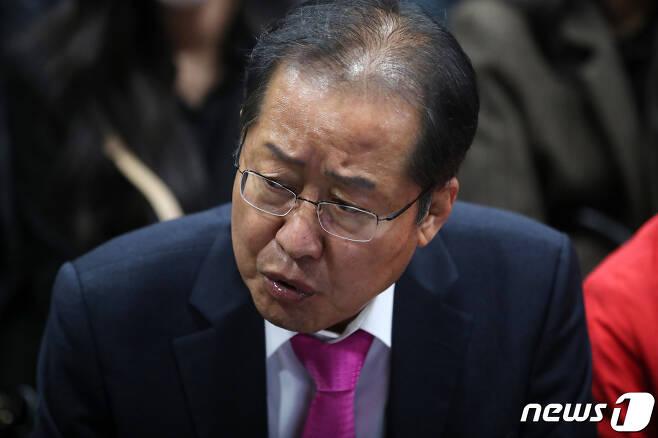 홍준표 무소속 의원  2020.4.16/뉴스1 © News1 공정식 기자