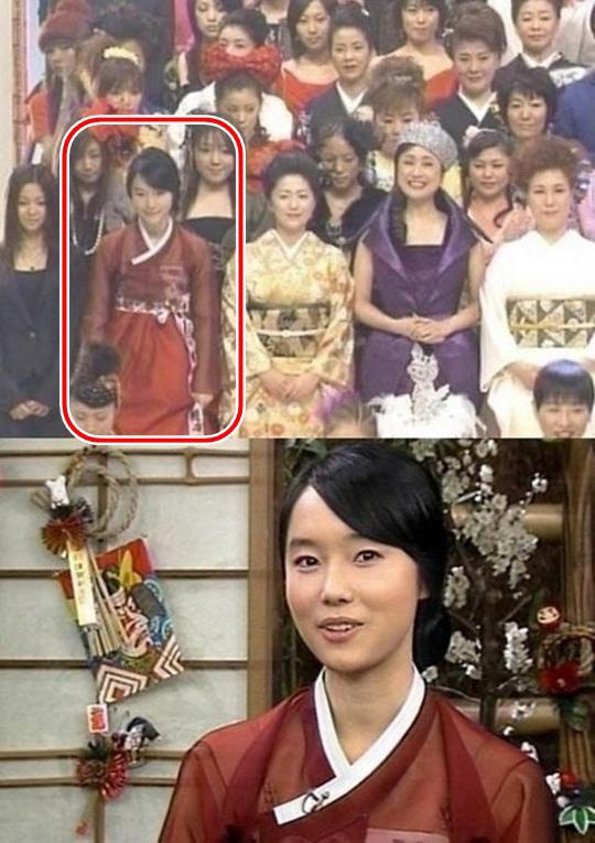 이정현. 사진=NHK '홍백가합전'