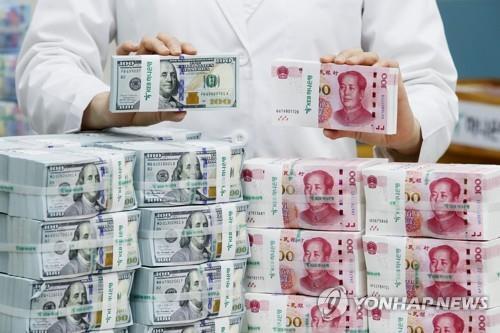 미국 달러화와 중국 위안화 [연합뉴스 자료사진]