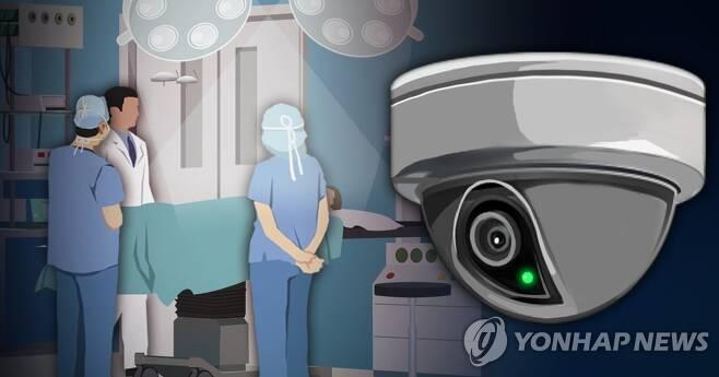 수술실 CCTV 설치 논란 (PG) [장현경 제작] 사진합성·일러스트