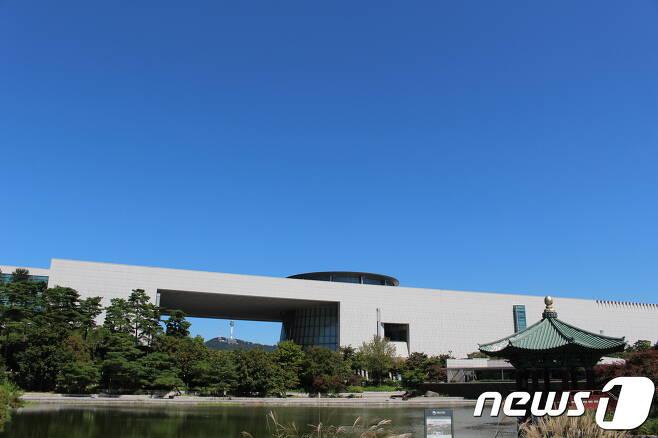 국립중앙박물관 전경. © News1