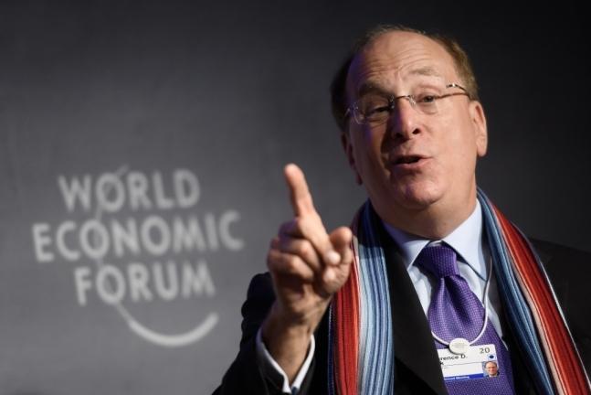 래리 핑크 블랙록 최고경영자(CEO)/사진=AFP