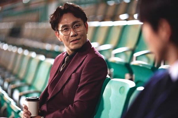 SBS 드라마 '스토브리그'에서 권경민 역을 맡은 오정세