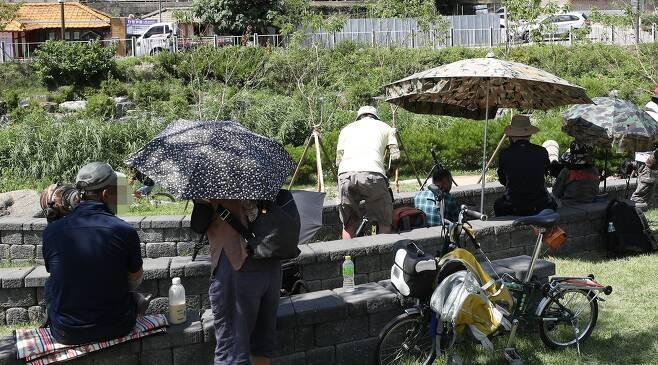 춘천에 몰려든 사진가들 [촬영 양지웅]