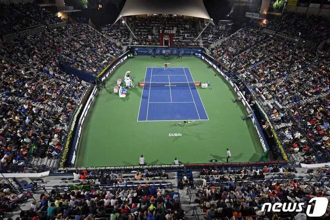 ATP투어 시티오픈이 코로나19로 인해 취소됐다. © AFP=뉴스1