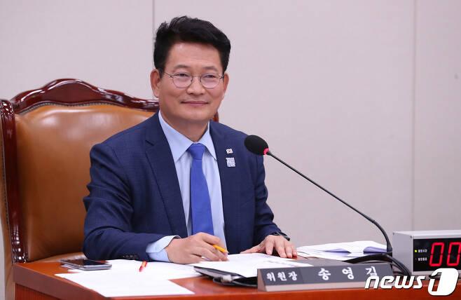 송영길 국회 외교통일위원장 © News1 임세영 기자