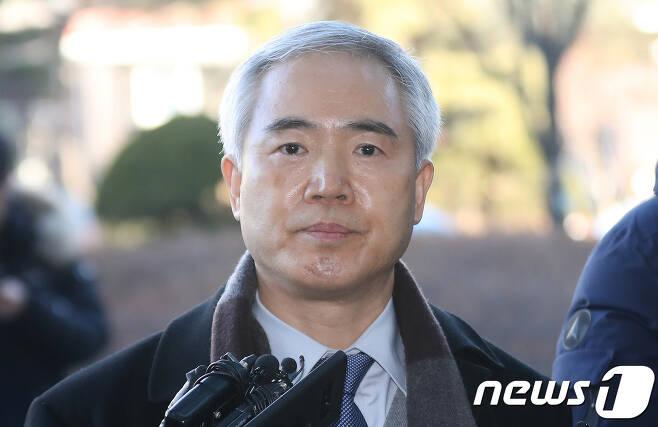 양부남 부산고검장. 2018.2.7/뉴스1 © News1 구윤성 기자