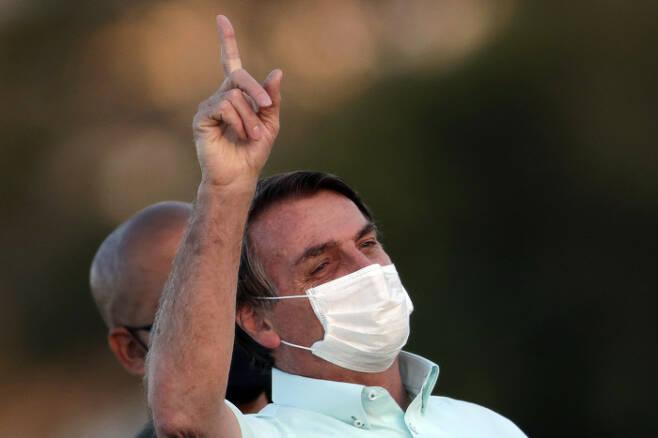자이르 보우소나루 브라질 대통령. AP연합뉴스