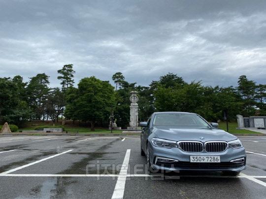 BMW 530e.<장우진 기자>