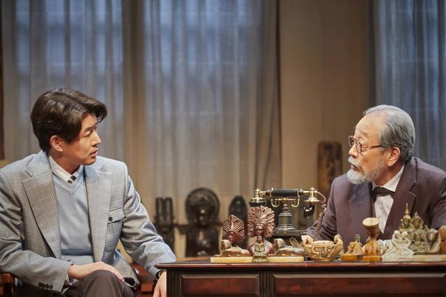 [서울=뉴시스] 연극 '라스트 세션'. 2020.07.212 (사진 = 파크컴퍼니 제공) photo@newsis.com