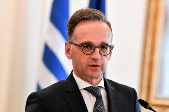 하이코 마스 독일 외무장관. AFP 연합뉴스