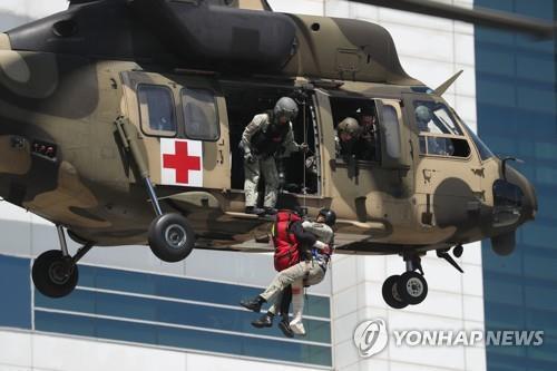 수리온 기반 육군의무헬기 [연합뉴스 자료사진]
