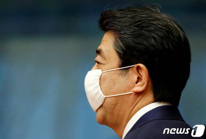 아베 신조 일본 총리. © 로이터=뉴스1