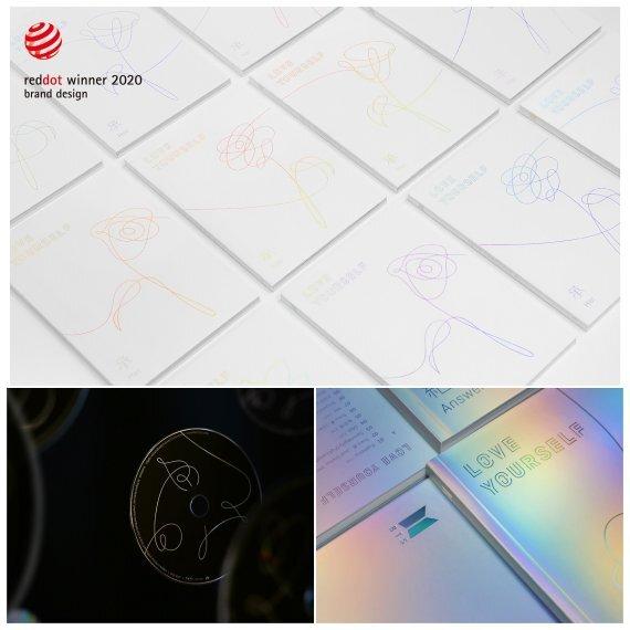 방탄소년단 러브 유어셀프 시리즈 /사진=fnDB