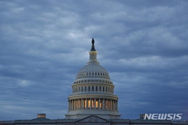 [워싱턴=AP/뉴시스]5월3일(현지시간) 미국 워싱턴에 위치한 의회의 모습. 2020.07.28.