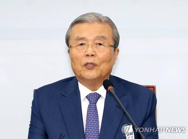 발언하는 김종인 비상대책위원장 [연합뉴스 자료사진]