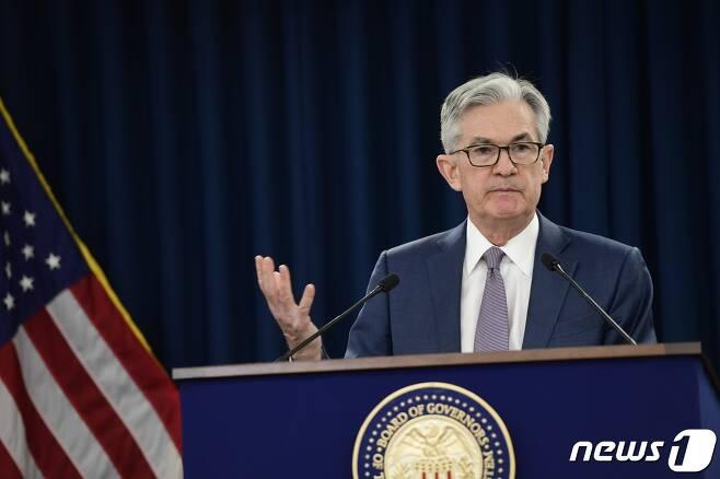 제롬 파월 연방준비제도(Fed·연준) 의장. © AFP=뉴스1