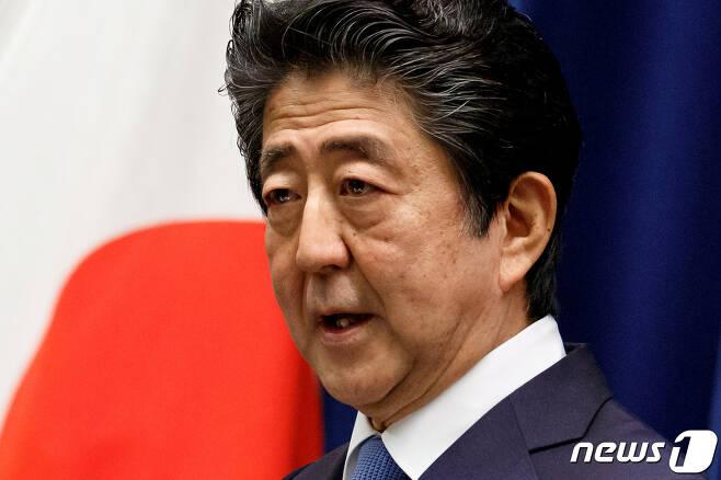 아베 신조 일본 총리 © 로이터=뉴스1