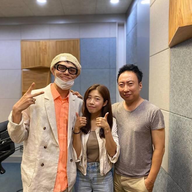 정혁 김보민 박명수(사진 왼쪽부터)