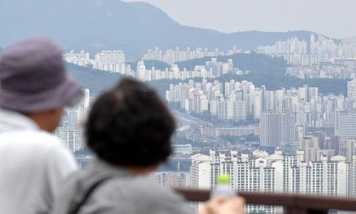 서울 시내 아파트 단지 모습. 하상윤 기자
