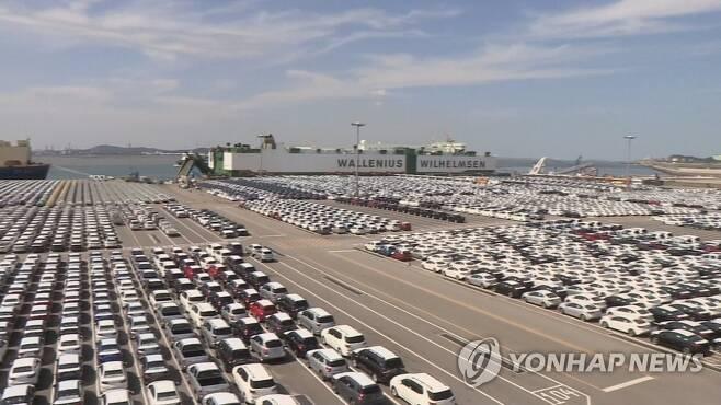 자동차 수출 [연합뉴스 자료사진]
