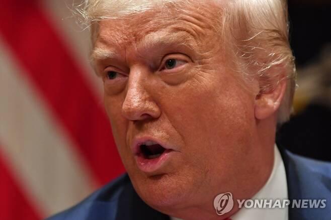 오는 11월 미국 대선을 앞두고 '중국 때리기'에 열을 올리고 있는 도널드 트럼프 미국 대통령[AFP=연합뉴스 자료사진]
