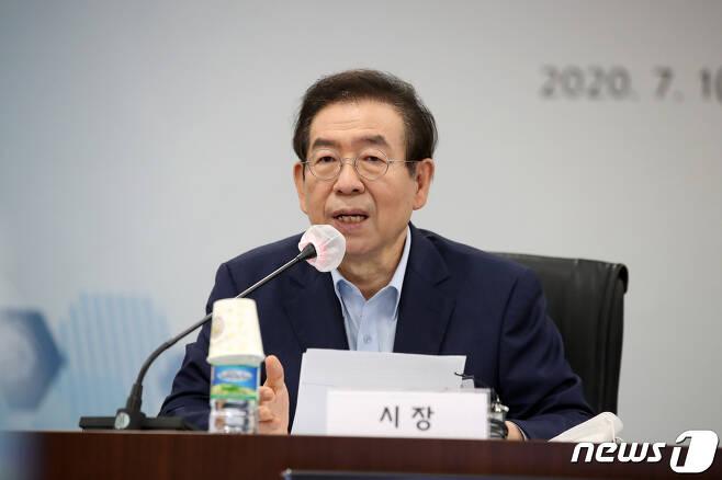 고 박원순 전 서울시장 2020.7.1/뉴스1 © News1 이승배 기자