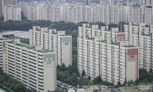 2일 서울 강남 일대 아파트 단지의 모습. 뉴시스