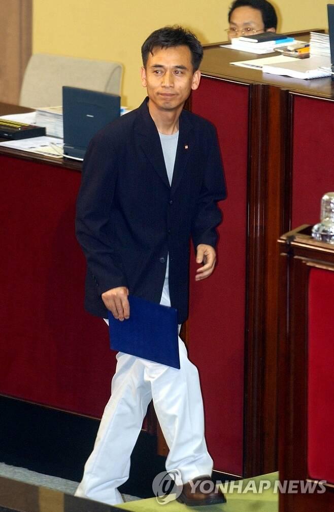 유시민 당시 열린우리당 의원 [연합뉴스 자료사진]